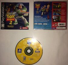 Toy Story 2 Buzz Lightyear To The Rescue PS1 Great Condition Complete