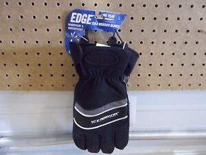 Clam Ice Armor Edge Cold Weather Gloves windproof waterproof size large NWT