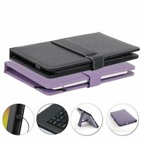 10.1 Inch Leather Keyboard Case Cover Micro USB for 10'' Tablet PC Android XGODY