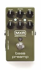 MXR M81 Bass PreAmp Bass Guitar Effects Pedal! Pre Amp