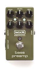 MXR M81 Bass PreAmp Bass Guitar Effects Pedal! Pre Amp