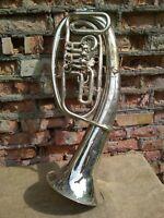 Vintage Original USSR Musical Instrument Horn