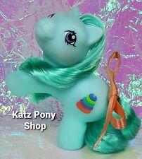 HQG1C Custom G1 MLP Style Playful Baby Pony 💜 TIPPER 💜 w Accessories! BLUE