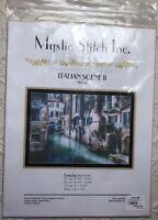 Mystic Stitch Italian Scene II Cross Stitch Pattern NPF-42 Fine Art Chart EUC