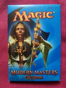 Magic The Gathering MODERN MASTERS 2015 2ND EDITION MM2 Sealed Booster Pack MTG