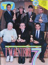 SORRISI 7 1991 Vasco Rossi Roberto Baggio Twin Peaks Ornella Vanoni Salvatores