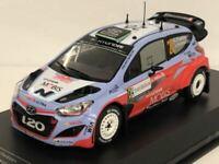 Hyundai i20 WRC No20. H.Paddon J.Kennard 2015 Italia Sardegna 1:43 Scale