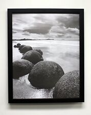 16x20 Black Picture Frame, 1-1/4-Inch Wide with Real Glass