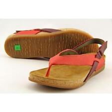 Sandalias y chanclas de mujer El Naturalista color principal rojo