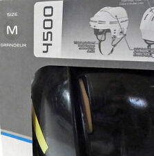 Bauer 4500 Helmet Combo Protective Cage True Vision II In Original Box Medium