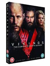VIKINGS COMPLETE SEASON 4 - PART 1 & 2 - 6 DVD BOXSET UK REGION 2 NEW CLEARENCE