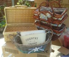 mixed sized baskets