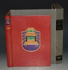 A Burgess The World of William Shakespeare Fine Binding Signed Ltd Numbered 1st