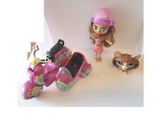 lot  Lps  Blythe petshop scooter avec poupée son petshop  chien    pet shop