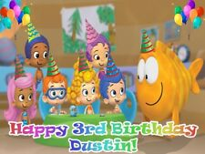 BUBBLE Guppies Edible Icing Image Photo CAKE Topper Frosting Sheet Decoration