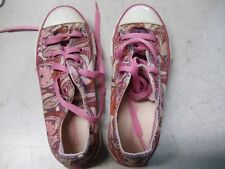 CONVERSE ALL STAR CASUAL SHOES, US 12 GIRL SIZE