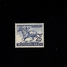 Germany 1942 Horse Race Blue Ribbon Mint Never Hinged Stamps MNH J