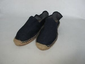 Denim Blue Espadrilles Sandal Bath Slippers Beach Shoe Beach Shoes Espadrille