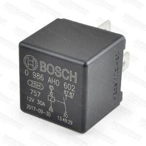 Genuine Bosch fuel pump relay 0332 014 112 0986AH0602 AFU2913L