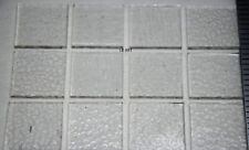"""12 Pieces 3/4""""x 3/4"""" Thin Crystal Clear Window Glass Not For Fusion"""