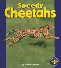 Speedy Cheetahs (Pull Ahead Books)-ExLibrary