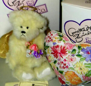 """Annette Funicello Angel Heart 15"""" Bear With Box & COA"""