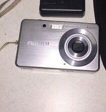 Fujifilm Finepix J10 8.2MP Digital Camera 3x ISO Optical Zoom Brushed Silver
