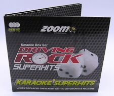 Zoom Karaoke CD+G - Driving Rock Superhits - Triple CD+G Karaoke Disc Pack