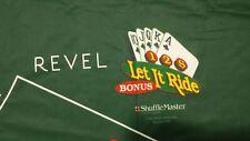 Authentic REVEL Let It Ride Layout 3 Card Bonus Bet Genuine Casino Quality