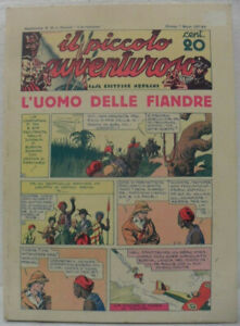 """Cartonato fumetti """"Il piccolo avventuroso n° 22/43"""" ristampa giugno 1975 Ottimo"""