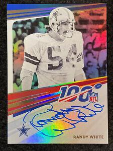 Randy White 2021 Panini Auto SP Cowboys Nice!