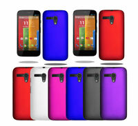 For Motorola Moto G 1st ( 2013 ) Hybrid Plastic Hard Case Slim Cover & Screen