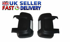 FIAT DUCATO PEUGEOT BOXER CITROEN RELAY WING MIRROR COVER PAIR LEFT& RIGHT