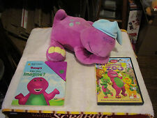 2000 Lyons Love & Lullabies Barney for Baby Plush Musical, Book & DVD