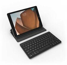 ZAGG Universal QWERTZ Bluetooth Tastatur Keyboard beleuchtet Flex Schwarz Hülle