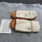 US Air Force Moccasins Very rare survival kit Korea era originals  (MO)