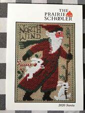 Santa 2020 The Prairie Schooler Counted Cross Stitch Chart Pamela Byrd Smith