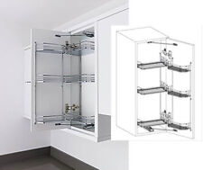 Kessebohmer Classic 300mm Wall Tandem Storage System - Soft Close
