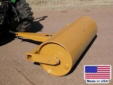 6 ft Drum Roller - Pull Behind - Drawbar Hitch - 840 lbs Empty - 109 Gallon Cap