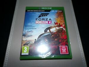 Forza Horizon 4 Standard Edition (Xbox One, 2018) **New & Sealed**