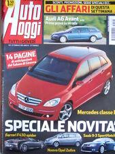 Auto Oggi n°8 2005 Audi A6 Avant - Ferrari F430 Spider  [P45]
