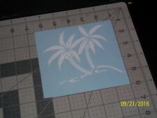 "Palm Trees 5"" Vinyl Decal sticker laptop windows wall car boat"