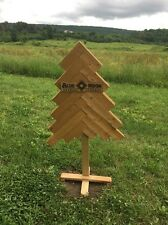 Blue Moon Brewing Beer Wooden Crate CHRISTMAS TREE ADVERTISING BAR DECOR Popsign