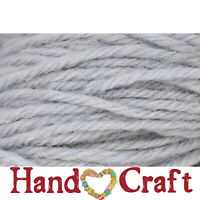 Deluxe Worsted Universal Yarn ICE RUSTIC Gray Pure Wool #4 Weight 220yd It Felts