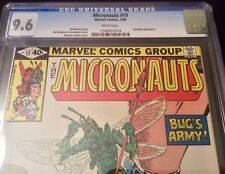 Micronauts #19 CGC 9.6 NM+ White Pages Quantum Realm Ant-Man Appearance