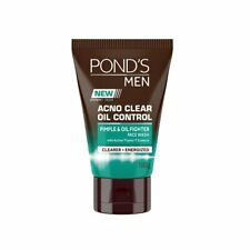 Pond's Men Acno Clear Oil Control Face Wash, 100g + FreeShipping