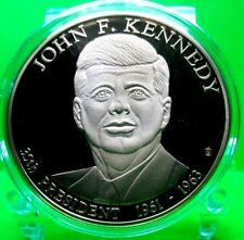 JOHN F. KENNEDY PRESIDENTIAL DOLLAR  TRIAL COIN PROOF