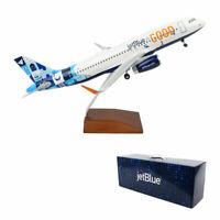 Skymarks Jetblue Airbus A320-200 For Good Hue Desk Display 1/100 Model Airplane