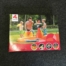 BNIB Pirate Ship Paddling Play Pool With Inflatable Swords & Water Cannon