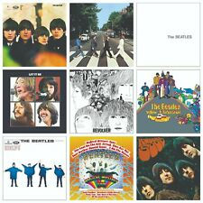 The Beatles Album Covers on stretched canvas collage (Images can be changed)